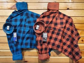 COTTON CHECKS SHIRTS SEVEN11 BRANDS COMBO 6 PCS SET M L XL