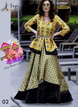 Designer gown combo pack 4 size m l xl xxl-1-ARYA
