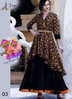 Designer gown combo pack 4 size m l xl xxl-2-ARYA