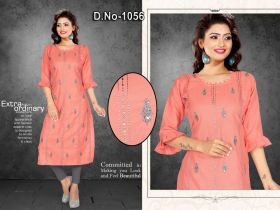 WOMEN  KURTI EMBROIDERY  XL