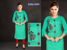 Embroidery Women Kurti verniraj-XL 2XL