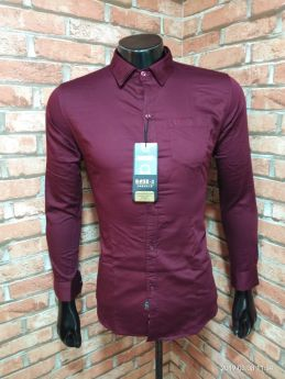 BASEII BRANDED SHIRTS TWILL SATIN 3 PCS SET M L XL -CAFE-M L XL