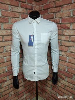 BASEII BRANDED SHIRTS TWILL SATIN 3 PCS SET M L XL -White-M L XL