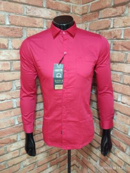 BASEII BRANDED SHIRTS TWILL SATIN 3 PCS SET M L XL -Red-M L XL