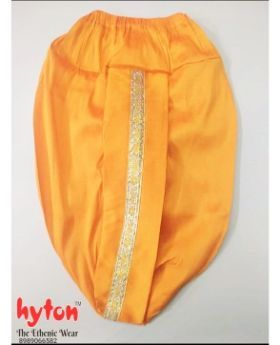 hyton Kinited Dhoti for 1 year to 10 year boys Traditional-Yellow