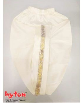 hyton Kinited Dhoti for 1 year to 10 year boys Traditional-CREAM