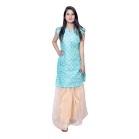 KURTI WITH SHARARA SET 4 pcs set m l xl 2xl