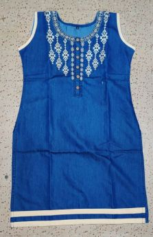 Denim Kurti ladies M l XL XXL