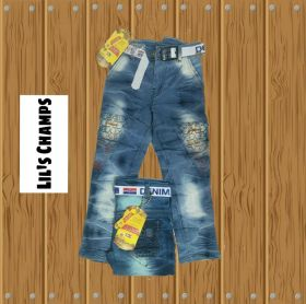 Lil's Champ Kids Jeans 5 pcs set size 22 to 30