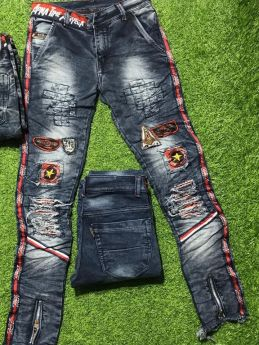 Lil's Champ Kids Jeans 6 pcs set 2 colours size 28 30 32