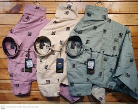 SEVEN11 CASUAL SHIRTS HALF  M L XL  COMBO 9 pcs set