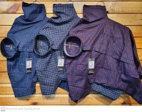 casual shirts half sleeve checks style 9 pcs set M L XL