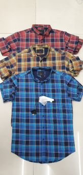 Shirts checks 9 pcs set M L XL