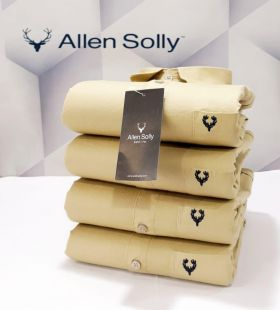 Shirts plain ALLEN SOLLY 4 PCS SET-SKIN-M L XL 2XL