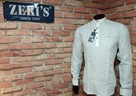 Zeris Branded Kurta Linen Material 3 pcs set M L XL