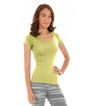 Desiree Fitness Tee-XS-Yellow