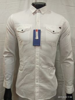 Zeris Cotton Twill Branded Shirts 3 pcs set M L XL-LEMON-M L XL